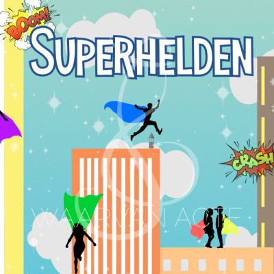 Eindmusical Superhelden - Waarvan Acte Theaterproducties
