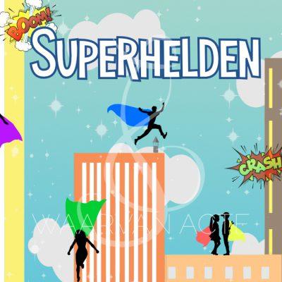 Eindmusical Superhelden - Waarvan Acte Theaterproducties
