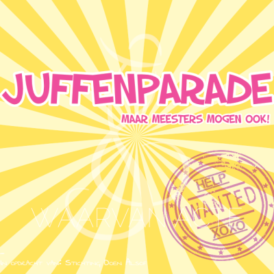 juffenparade sketch mini musical waarvan acte theaterproducties