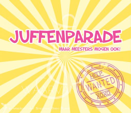juffenparade sketch mini musical waarvan acte theaterproducties