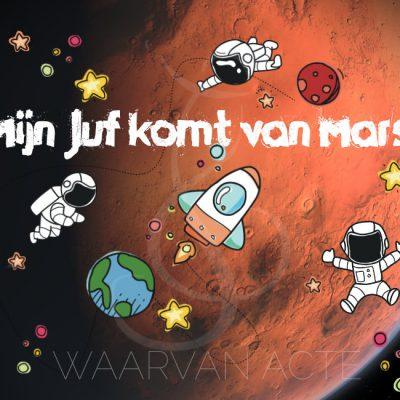 Eindmusical Mijn juf komt van Mars